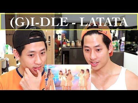 (G)I-DLE 'LATATA' MV REACTION (여자)아이들