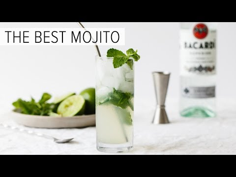 MOJITO | how to make the best mojito cocktail recipe