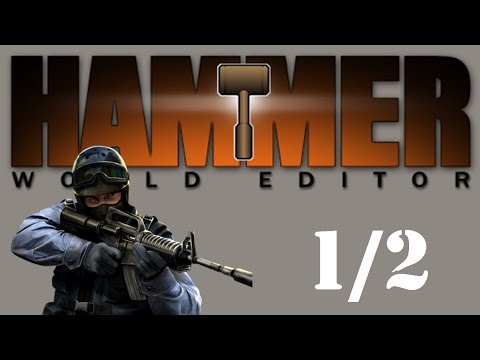 Learn How To Make CS 1.6 Maps - Hammer 3.5 Tutorial PART 1/2