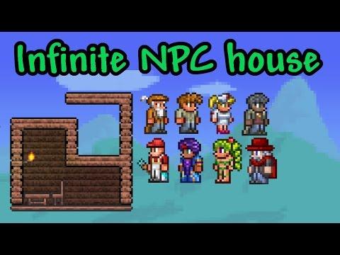 ★ Build Tutorial: Infinite NPC House   Terraria (Mobile & Console)