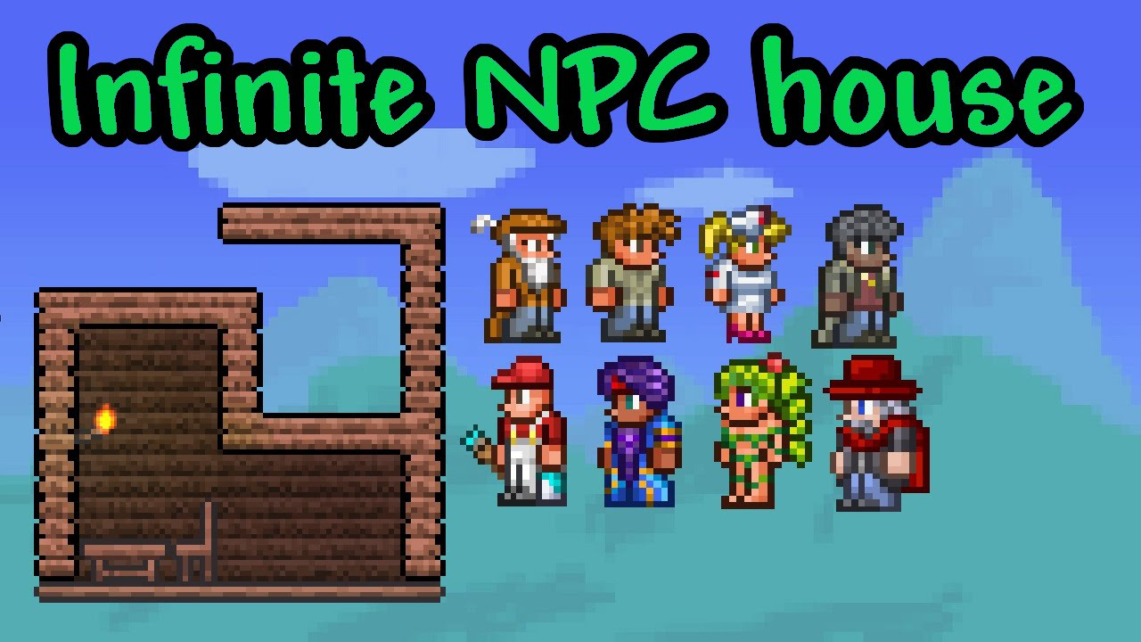 build tutorial infinite npc house terraria mobile console its youtube uninterrupted malvernweather Gallery