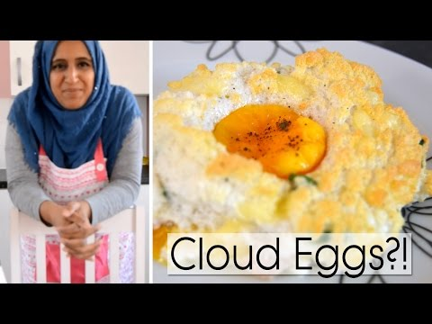COOK 'N' CHAT WITH SHAMSA | CLOUD EGGS?!