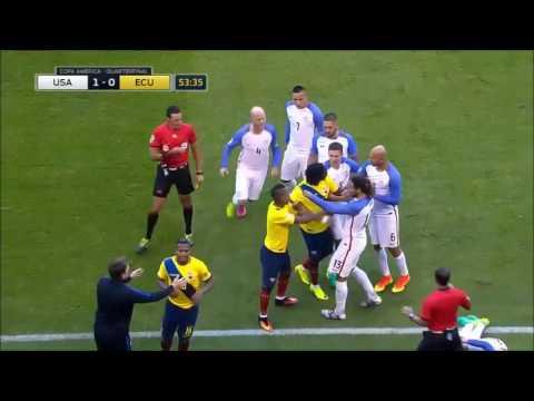 USA Vs Ecuador 2-1 - All Goals & Match Highlights - June 16, 2016 - Copa America Centenario (HD)