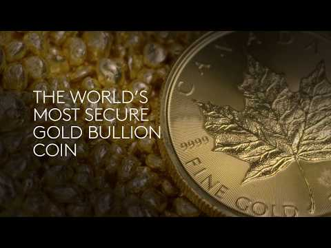 2018 1oz. Pure  Gold Maple Leaf Coins - Canadian Secure Bullion Coins