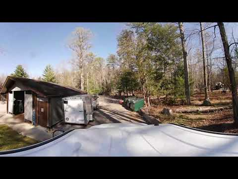 Great Smoky Mountains National Park Cades Cove Parking Lot and Campgrounds A1 through A3