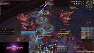 Mythic Lady Ashvane kill - Eternal Palace - Fire Mage 439 - Spearhead @ Burning Legion EU