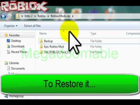 How To Mod Roblox Get Old Roblox Textures Back Youtube