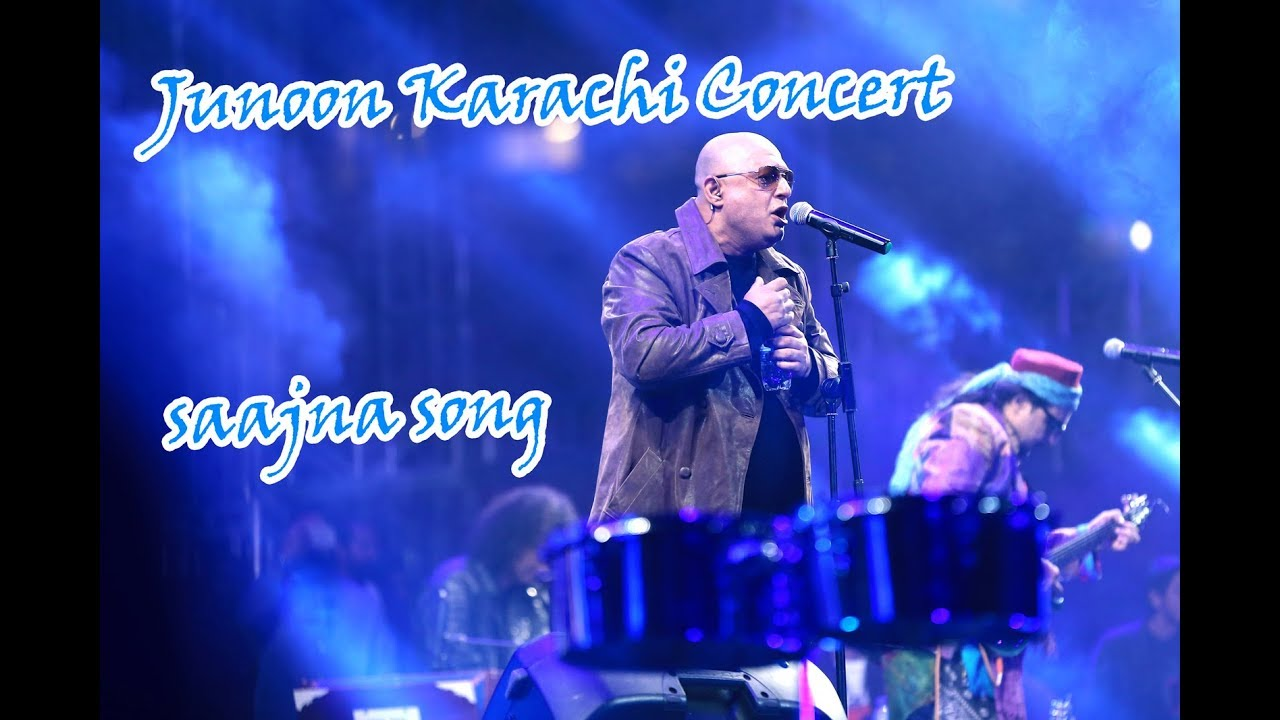 JUNOON Reunion Concert in Karachi HD - Sooper Hai Pakistan ka Junoon -  sajna song ali azmat