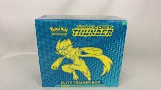LIVE: Pokémon TCG Lost Thunder Elite Trainer Box UNBOXING!