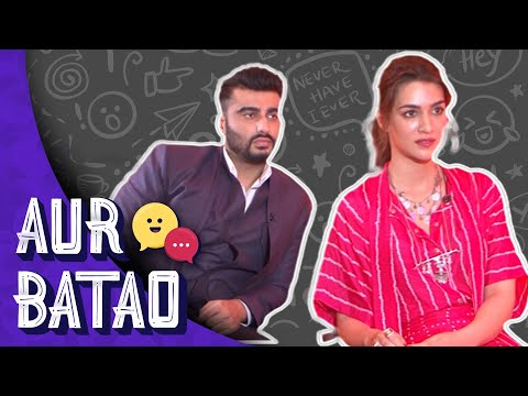 Kriti Sanon reveals Arjun Kapoor's hidden talent | Aur Batao | Panipat Interview Mp3