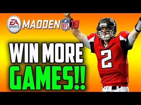 WIN MORE GAMES NOW USING THESE ADJUSTMENTS!!! MADDEN 18 TIPS!