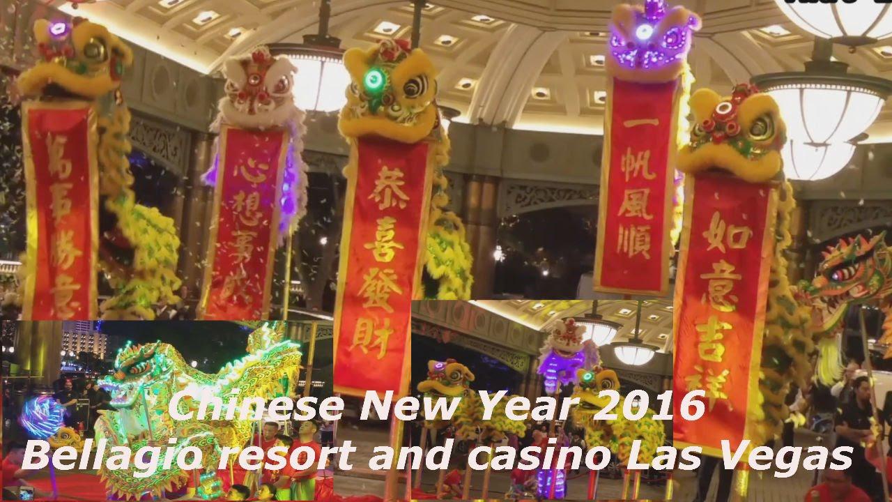 Chinese Lunar New Year 2016 Bellagio Las Vegas - YouTube