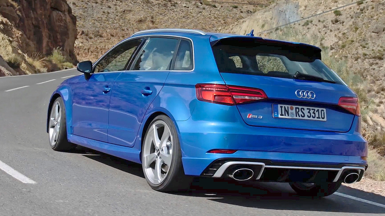 Audi Rs3 Sportback 2017 Test Drive Youcar Youtube