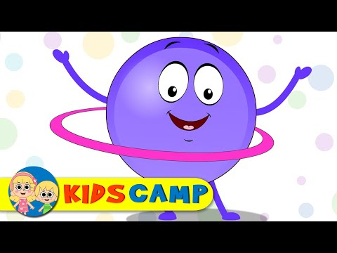 Circle Song | Learn Shapes with Elly and Eva | Original Song for Children by KidsCamp