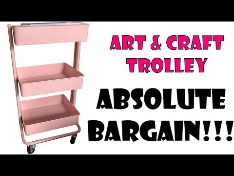 Bargain Art Trolley from Hobby Craft