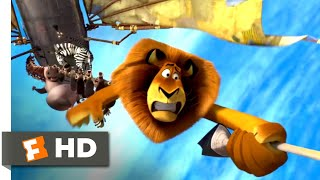 Madagascar 3 (2012) - The Animal Control Terminator Scene (3/10) | Movieclips