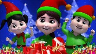 Família Dedo Elfo | Canção De Natal | Musicas Natalinas | Elf Finger Family | Christmas Song