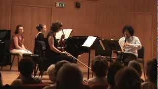 Bela Bartok Contrasts for clarinet, violin and piano