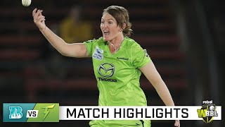 Thunder into WBBL final after epic Heat collapse | Rebel WBBL|06