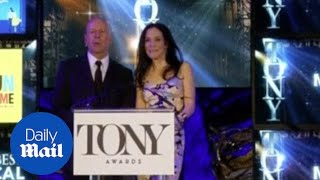 Bruce Willis & Mary-Louise Parker announce Tony Award nominations - Daily Mail