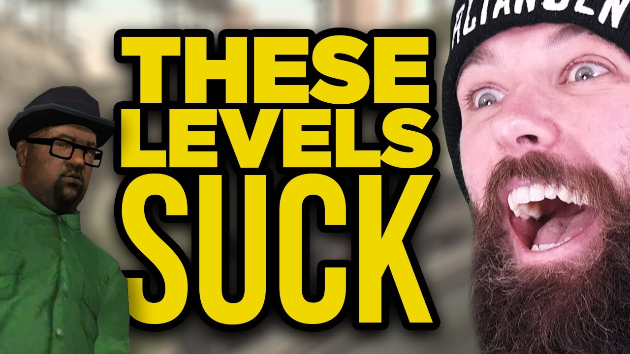 These Video Game Levels SUCK!