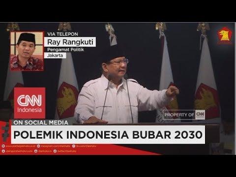 Pengamat Politik: Pidato Prabowo Lebih sebagai Strategi Kampanye - Polemik Indonesia Bubar 2030