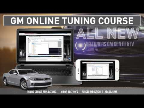 GM HP Tuners Level 1 Online Course Gen III/IV V8 guide with one year of support