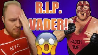 R.I.P. WWE's BIG VAN VADER PASSES AWAY AT 63! NEWS ARTICLE!