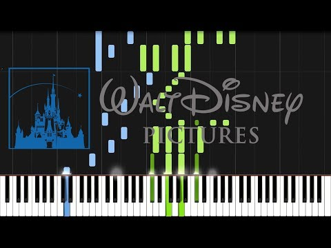 Walt Disney Pictures - Intro (Piano Tutorial) [Synthesia]