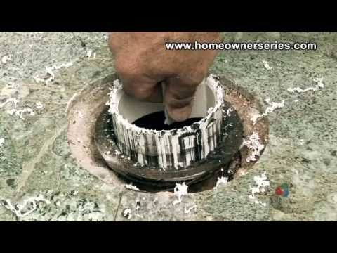 How to Fix a Toilet - Cement Sub-Flooring Repairs - Part 2 of 2 ...