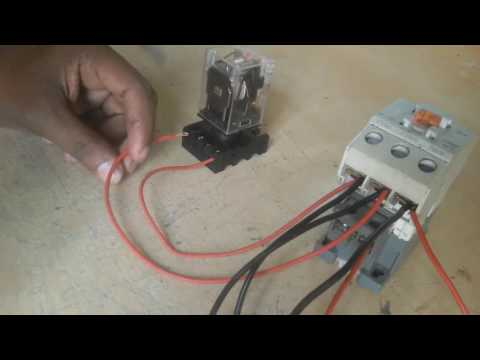 Three phase line protection by use a magnetic contract relay. how to make | electricity | electrical thumbnail