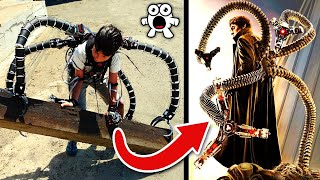 MILLIONAIRE GENIUS BUILDS DOCTOR OCTOPUS EXOSUIT – Can We Do Better?