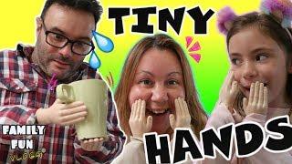 TINY HANDS challenge reto manos pequeñas