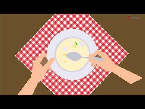 การงานอาชีพและเทคโนโลยี_มารยาทบนโต๊ะอาหาร
