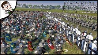 9000 Teutonic Order v Poland & Lithuania Survival Battle - Medieval Kingdoms Total War (Attila Mod)