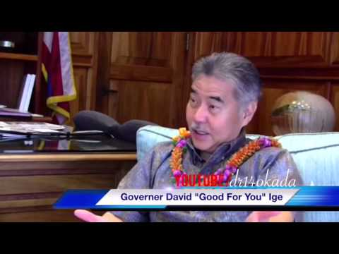 Governor David Ige Says Don