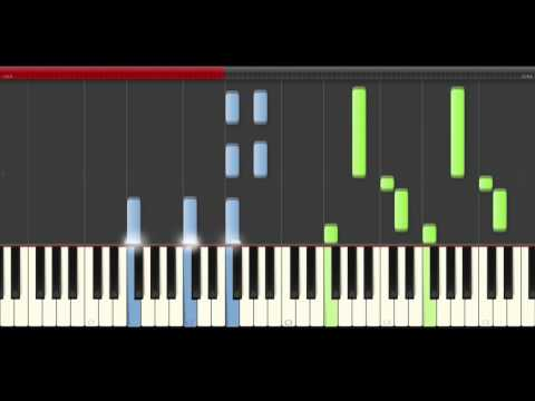 OneRepublic  Let's Hurt Tonight  piano midi tutorial sheet partitura cover app kaaoke