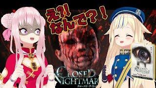 なんで?!発売前のホラーゲームプレイでヒメ号泣【CLOSED NIGHTMARE】