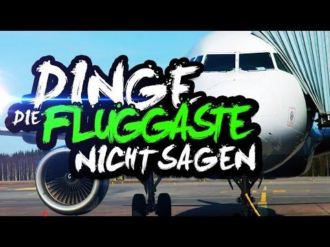 DINGE, DIE FLUGGÄSTE NICHT SAGEN