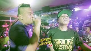 Bahay Katay - Rusty M Vs Nicko Robles - Rap Battle @ Antipolo Massacre