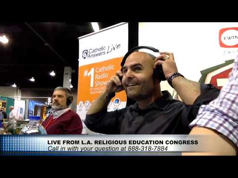 Karlo Broussard: Live from L.A. Religious Education Congress - 02/21/20