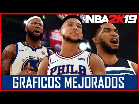 NBA 2K19 vs NBA 2K18 - CAMBIOS GRÁFICOS NOTABLES - COMPARATIVA #NBA2K19