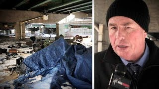 """Trudeau's """"refugees"""" fill Toronto's shelters, forcing homeless into tents 
