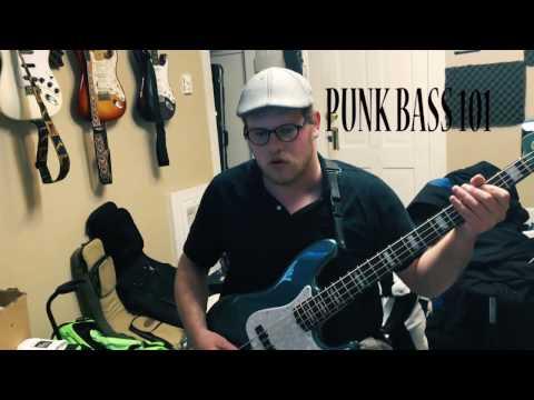Punk Bass Studio Tracking (Jazz Bass Dirty Tones)