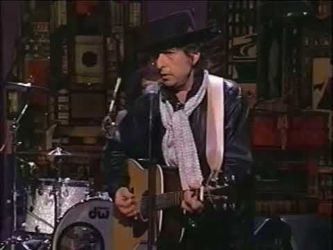 Bob Dylan - Forever Young Live on David Letterman 1993