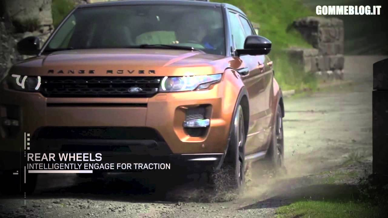 2014 range rover evoque snow test mud test rev youtube. Black Bedroom Furniture Sets. Home Design Ideas