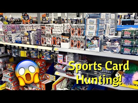 Download *Insane Finds Sports Card Hunting! 😱 RARE FINDS! + Opening a Football Power Cube! 🤔🔥