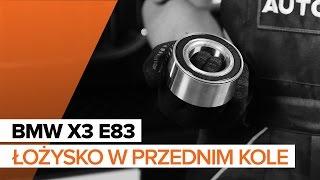 Instrukcja BMW X3 bezpłatna pobierz