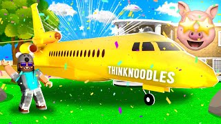 A PrIVatE jEt?!? | ROBLOX TROPICAL RESORT TYCOON..