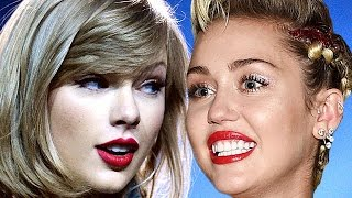 Taylor Swift Reacts To Miley Cyrus Mocking Her & Justin Bieber